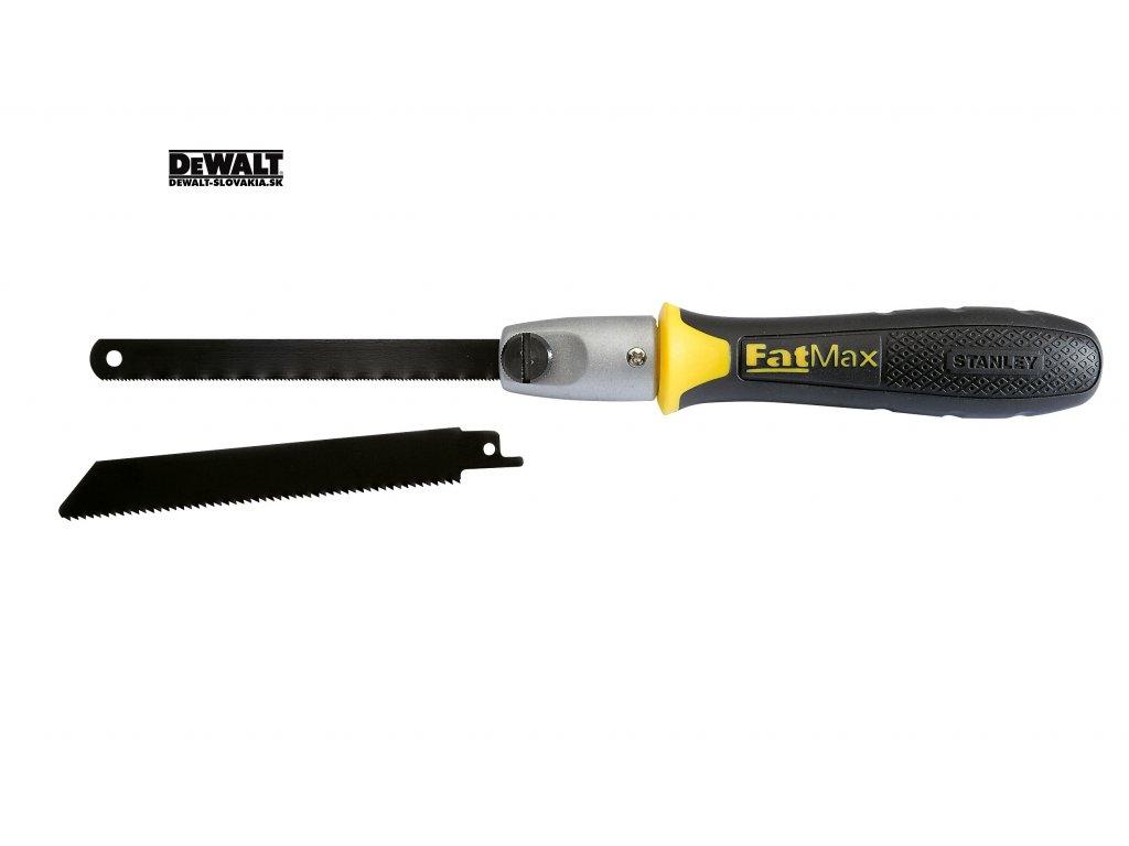 12524 0 20 220 stanley fatmax pilka s vymennymi platky na drevo i kov