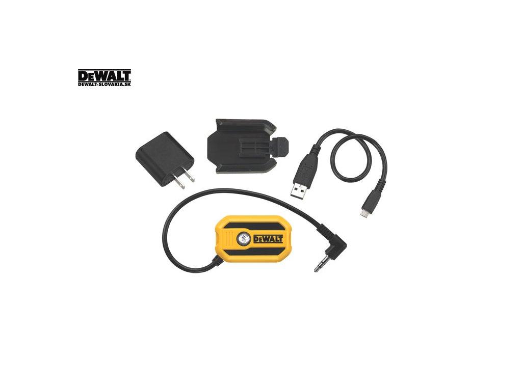 534 dcr002 bluetooth adapter pro bezdratove pripojeni zvukovych zarizeni s funkci bluetooth k radiim dewalt