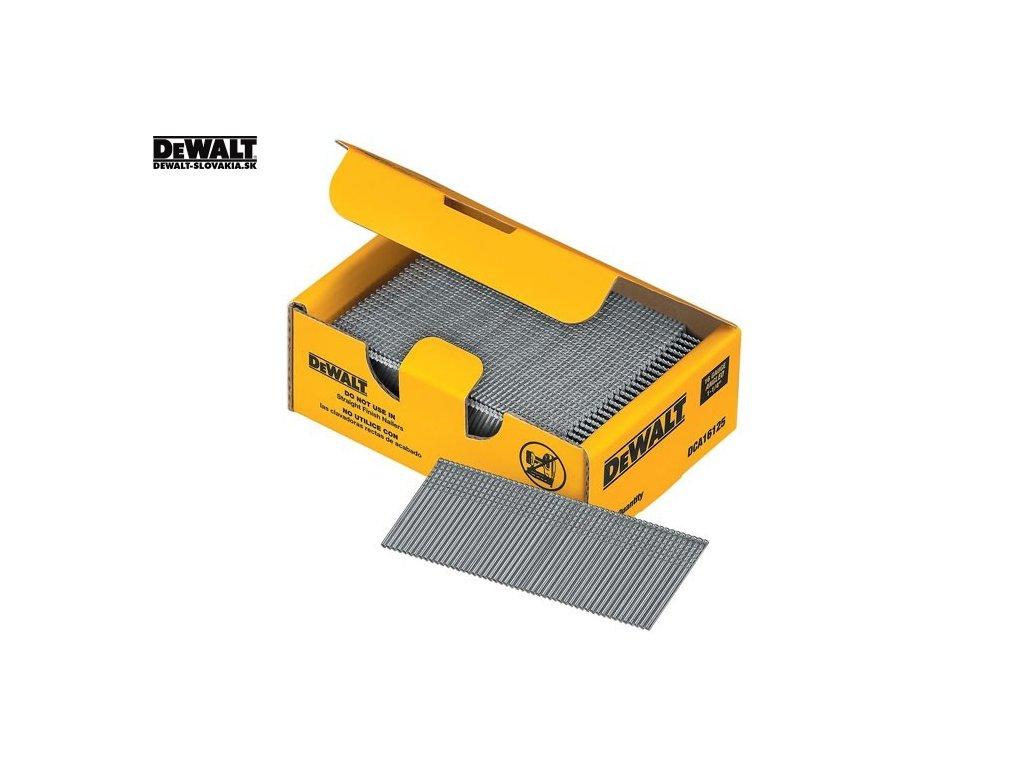 DeWALT Pozinkované dokončovací hřebíky 32-50 mm, 2500 ks v krabici (- DT9900 - hřebíky 32 mm, 2500 ks)