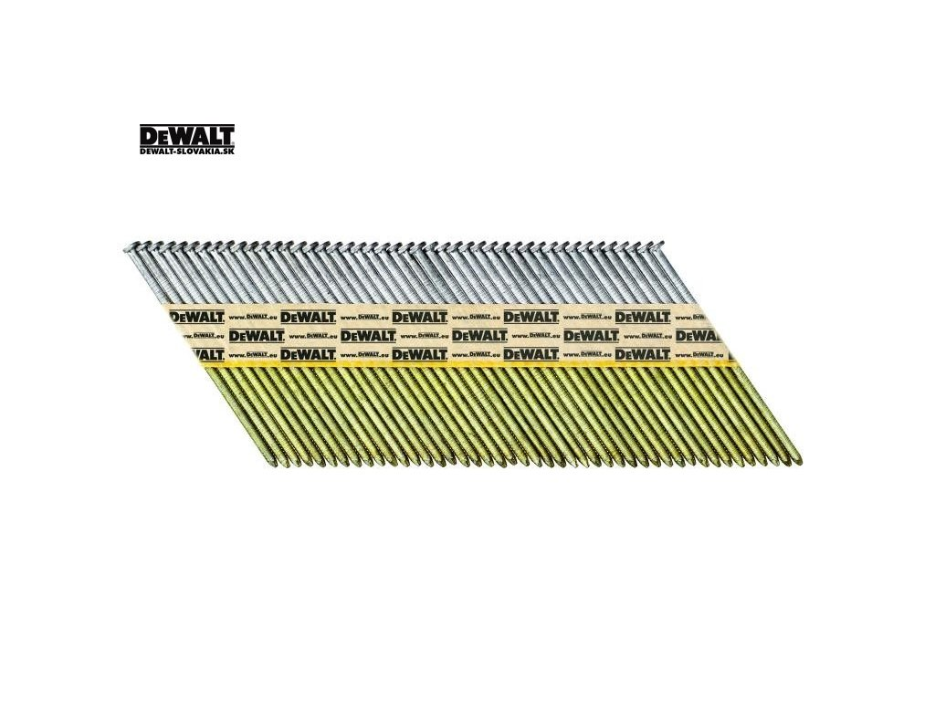 DEWALT Žárově Pozinkované KROUŽKOVANÉ HŘEBÍKY 50-90 MM, 1100 KS V KRABICI - EC5 - TŘ. 3 (Druh DT99528RH hřebíky 2,8 X 50 mm)