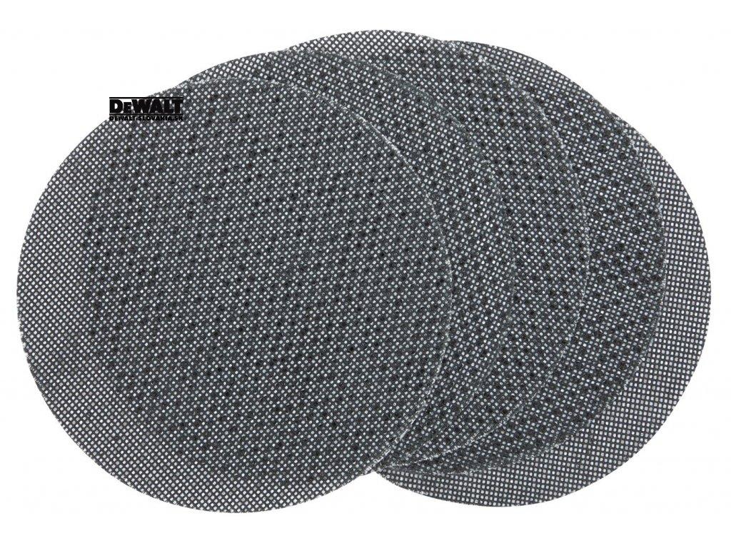 4866 dtm8560 dewalt brusna mrizka na suchy zip extreme 125mm zrnitost p60 pro excentrickou brusku 125mm 5ks