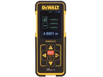 279(4) dw03101 dewalt laserovy meric vzdalenosti s dosahem 100 m baterie 2 x aaa 1 5 v