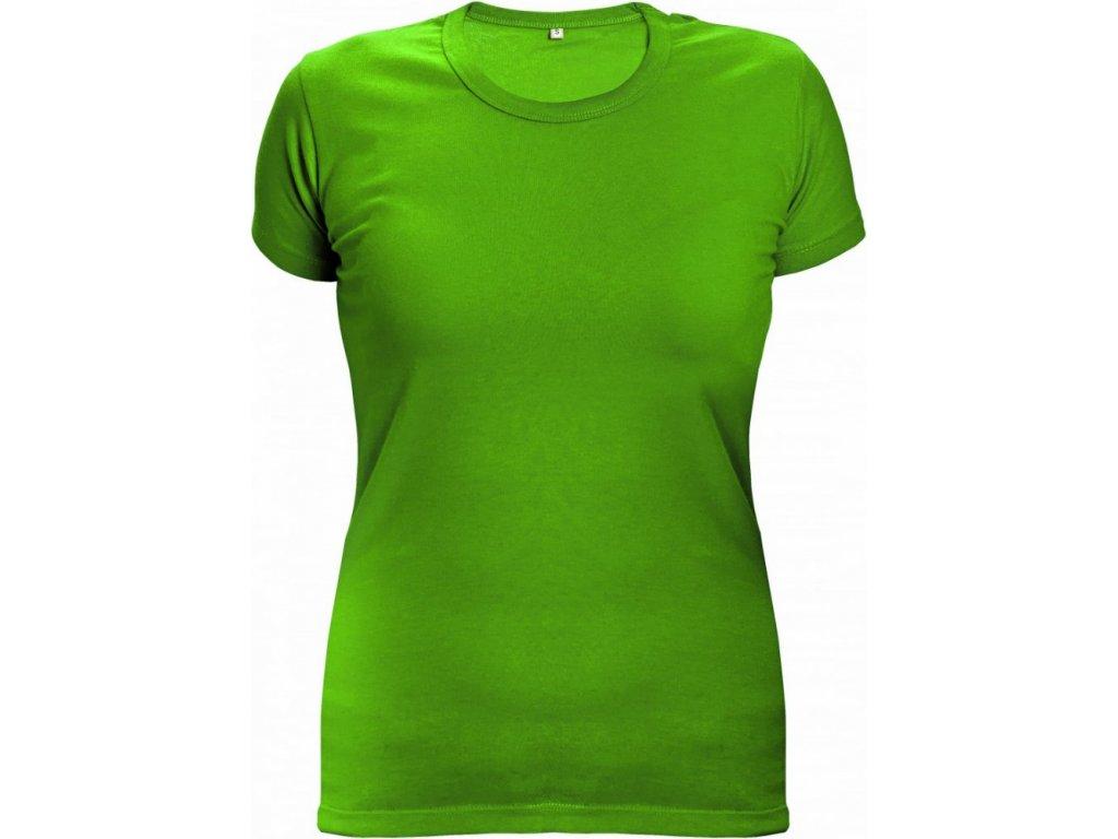 Tričko limetková