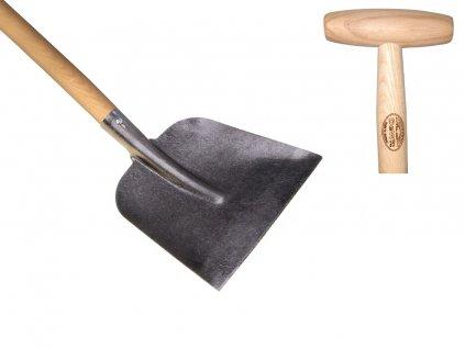 Lopata rovná, násada 1100mm