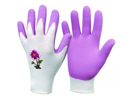 pracovni rukavice violette
