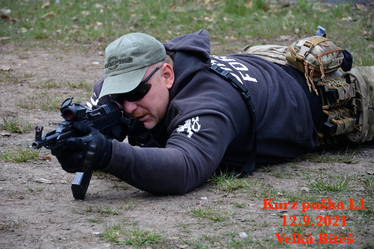 Kurz puška L1 dne 12.9.2021