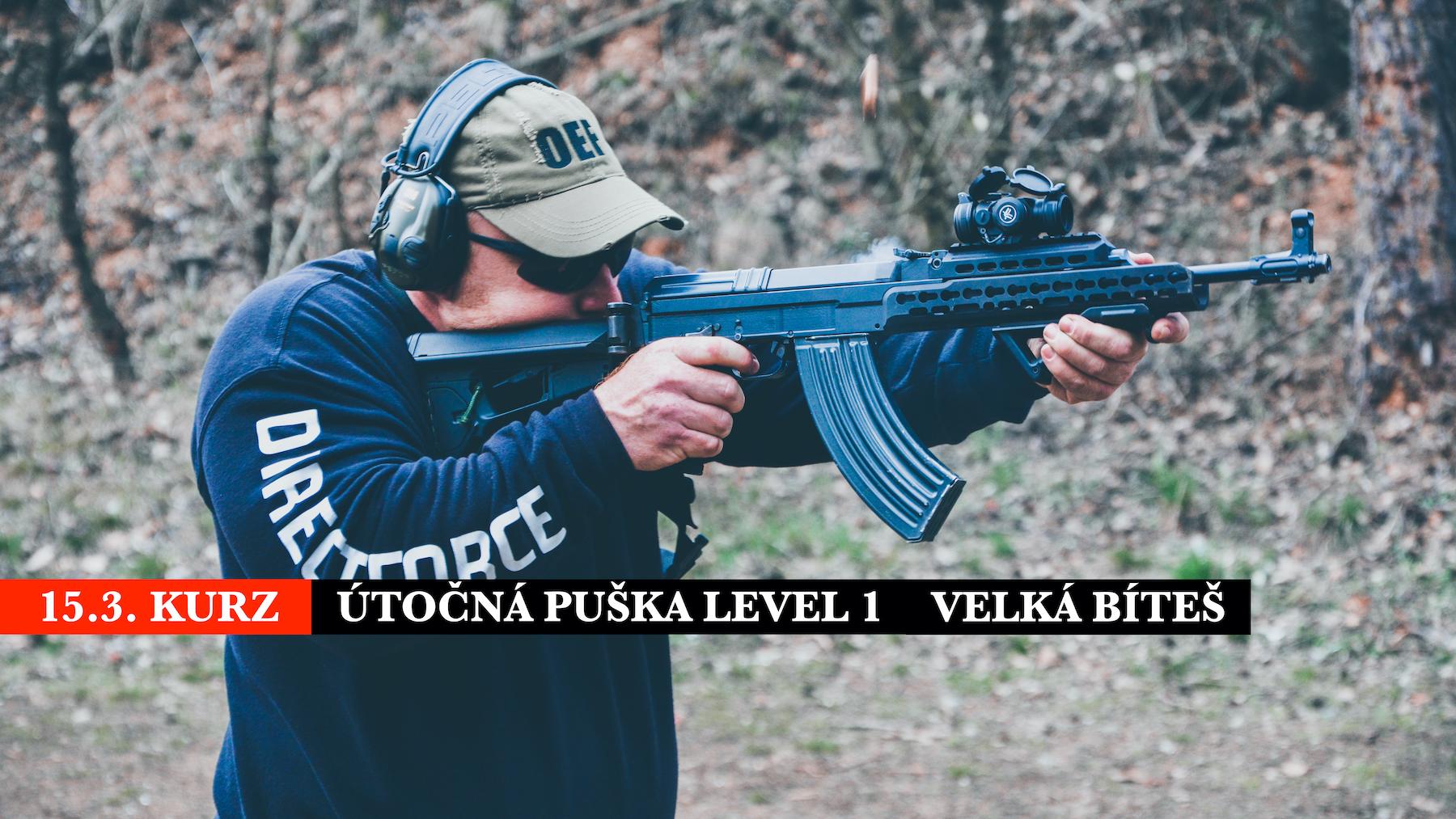 Puška L1 dne 15.3.2020