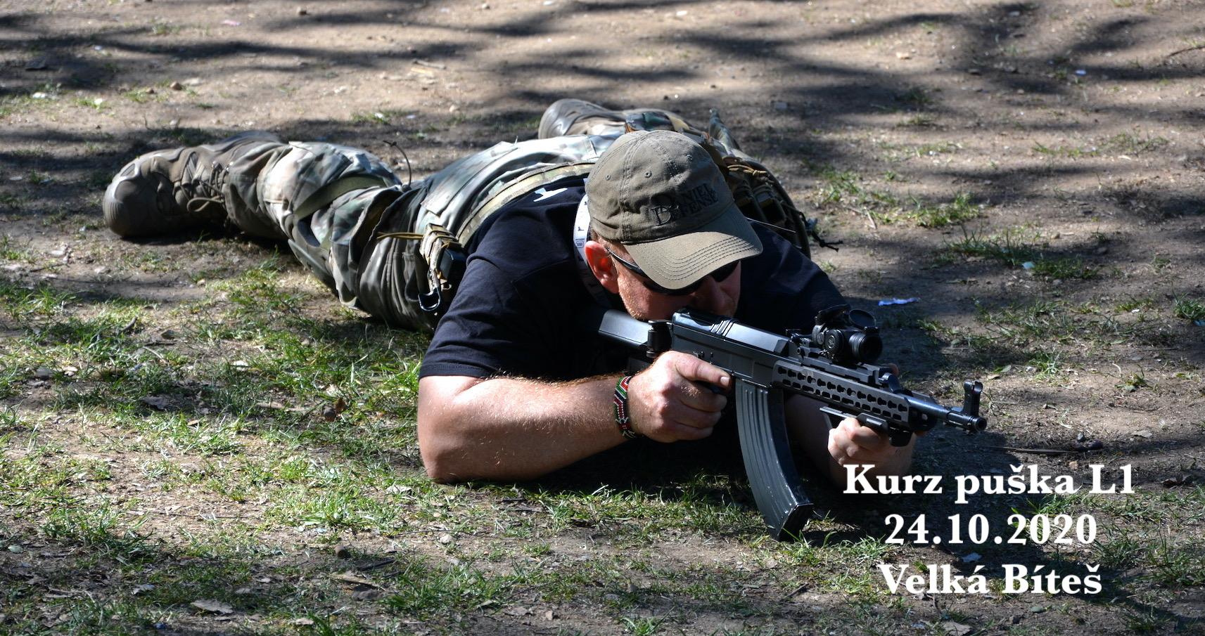 Kurz puška L1 dne 24.10.2020
