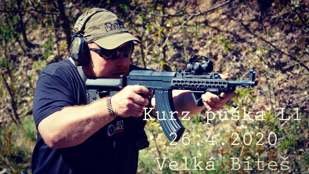 Kurz puška L1 dne 26.4.2020