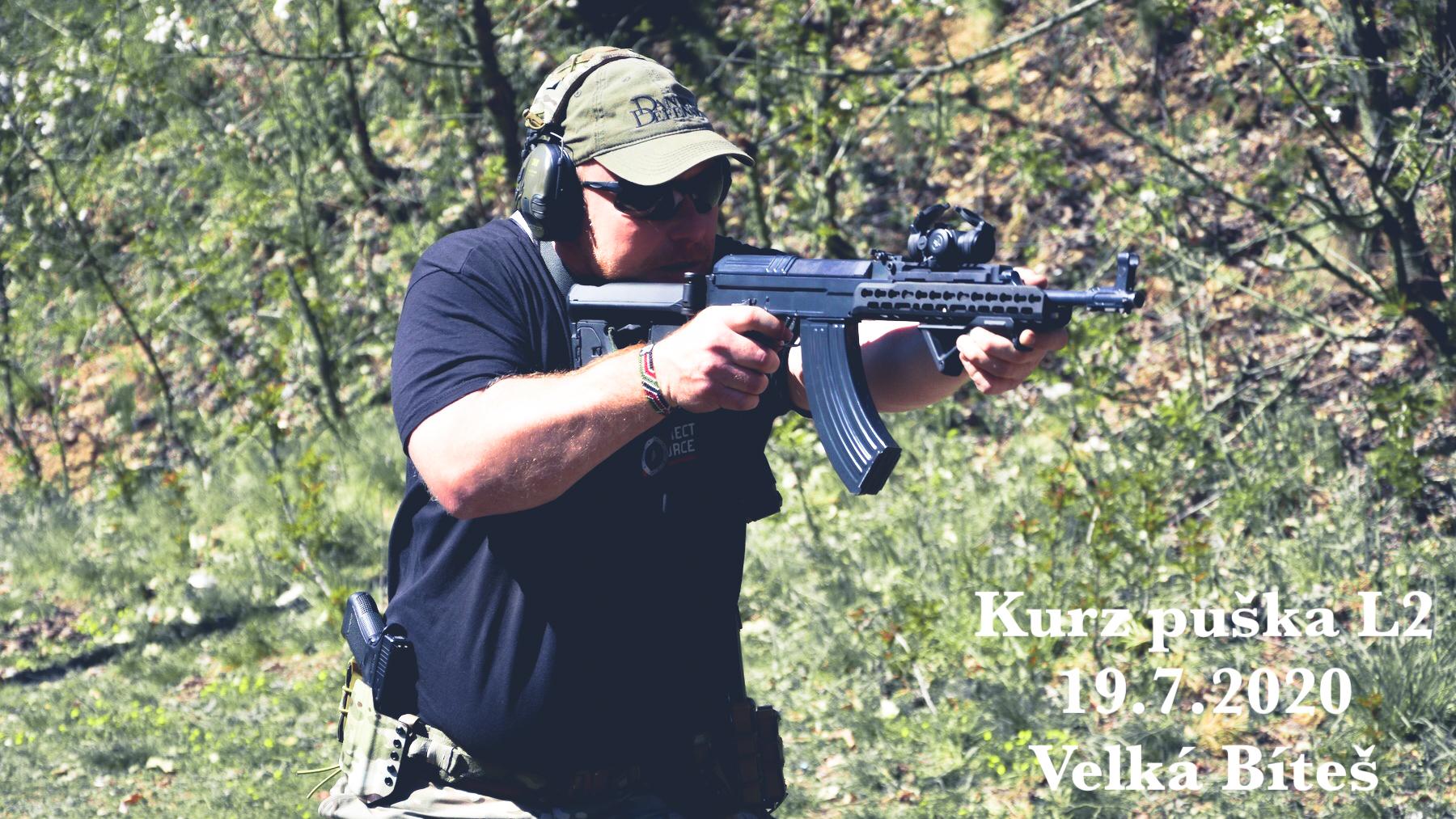 Kurz puška L2 dne 19.7.2020