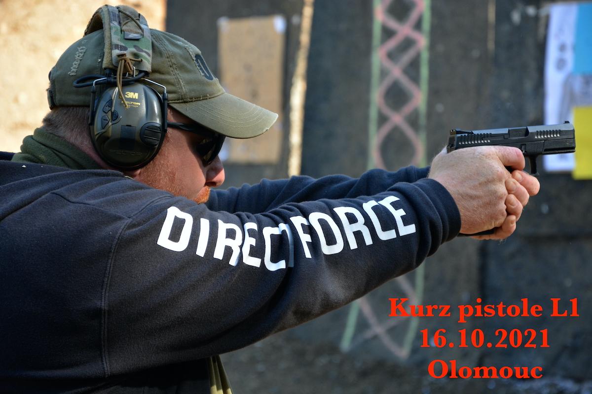 Kurz pistole L1 dne 16.10.2021