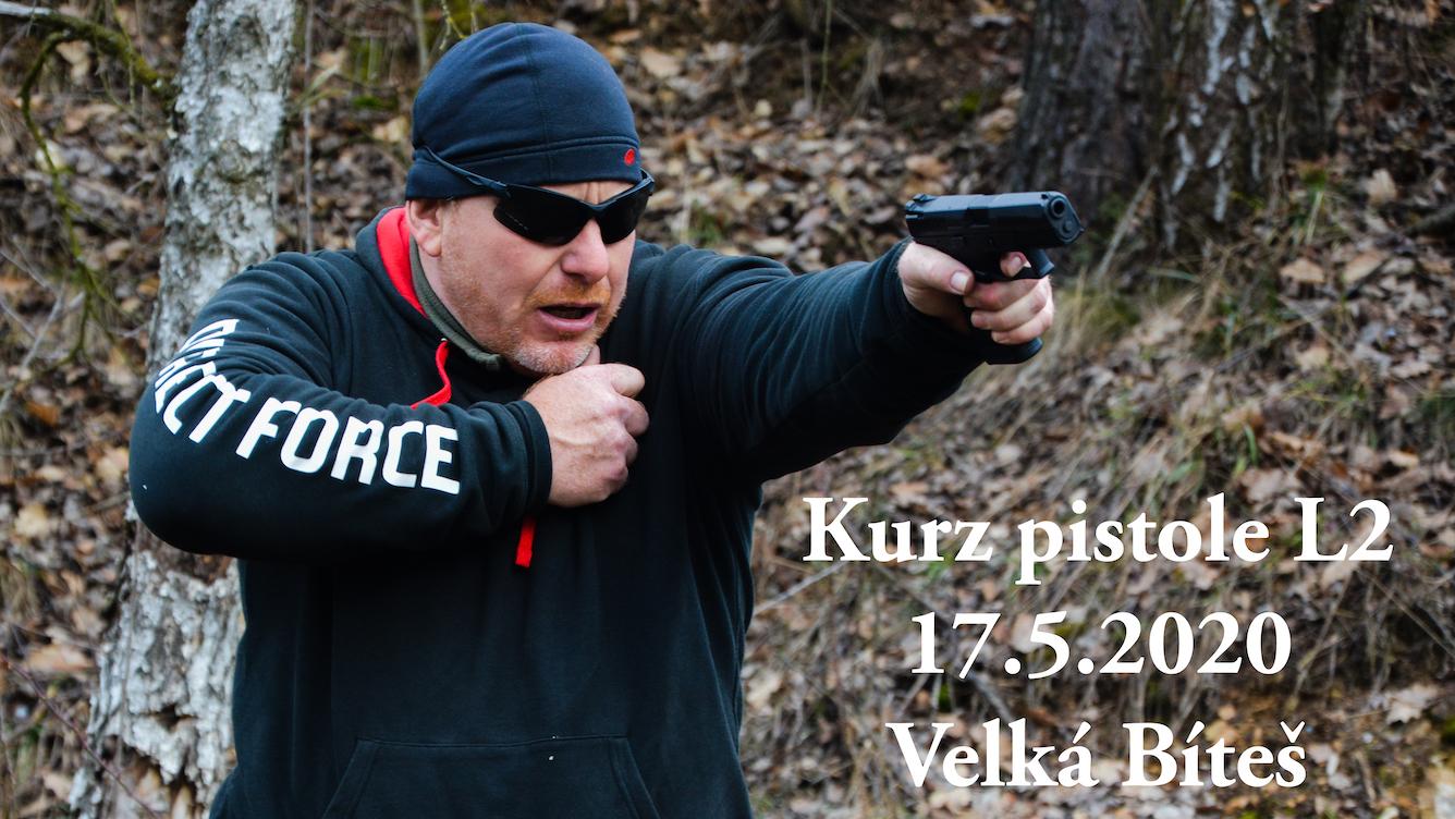 Kurz pistole L2 dne 17.5.2020