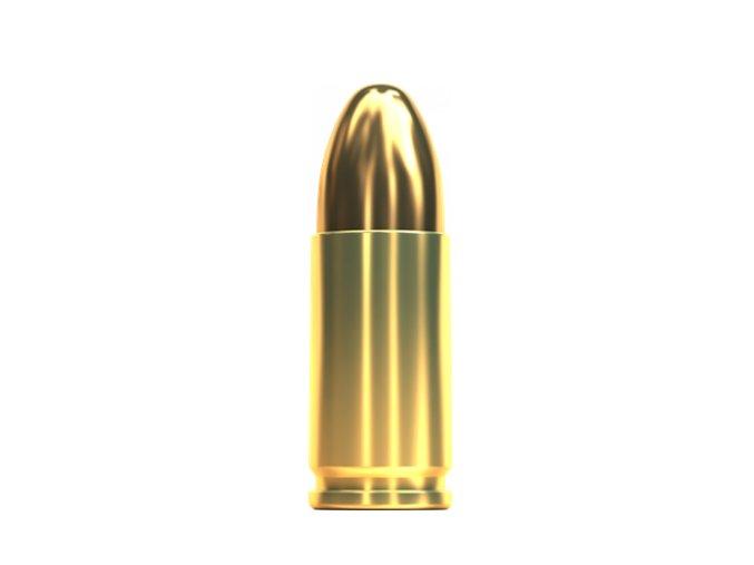 9 mm LUGER 9×19FMJ