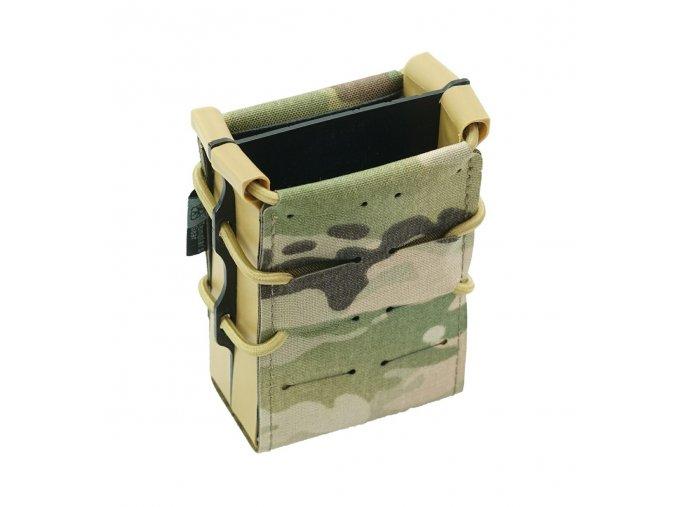 Dvojitá samosvorná sumka Templar's Gear pro puškové zásobníky AR:M4:SA58:AK, Multicam