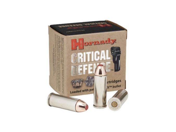 Náboj kulový Hornady, Critical Defense, .45 Colt, 185GR, FTX