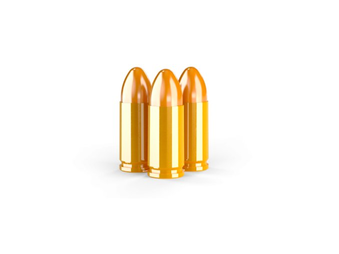 9 mm LUGER 124 gr TMJ RN