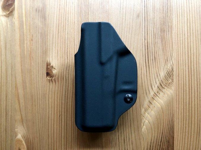 IWB - Glock 43/43X - vnitřní kydexové pouzdro - poloviční sweatguard - černá
