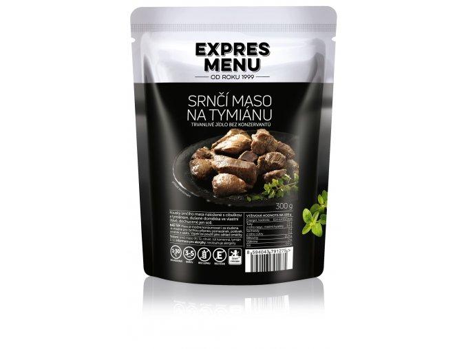 srnci maso tymián