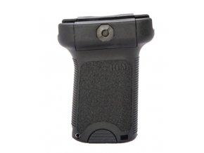 Přední rukojeť BCM GUNFIGHTER Vertical Grip picatinny s úložným prostorem černá