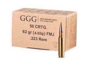 GGG .223 Rem FMJ 62gr 50ks