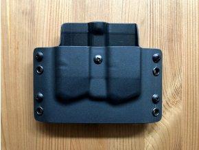 Kydexové pouzdro na zásobníky Glock 43X - vnější, černá