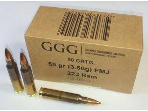 GGG 223REM 55grn FMJ