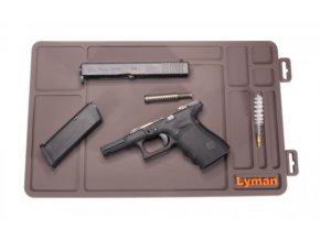 Montážní podložka pro čištění pistole