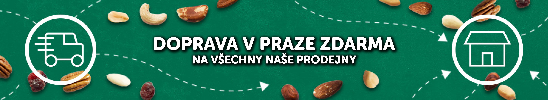 Doprava na naše prodejny v Praze zdarma