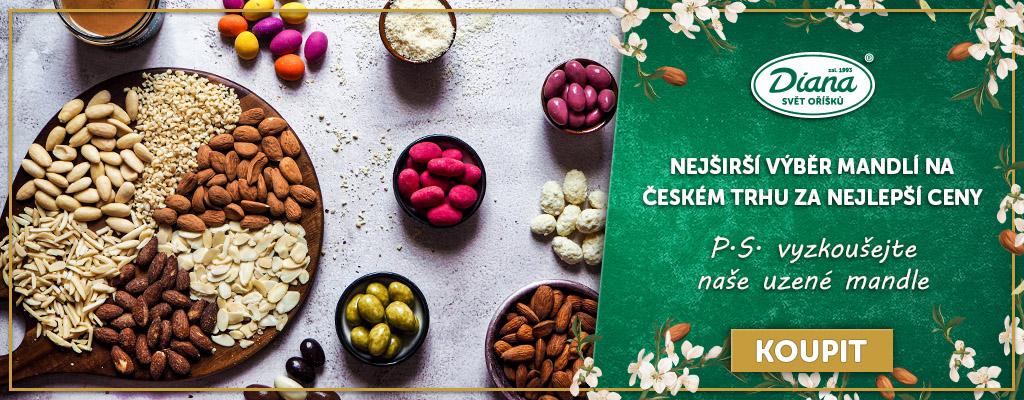Nejširší výběr mandlí na českém trhu