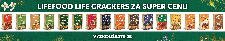 Lifefood life crackers akce sleva