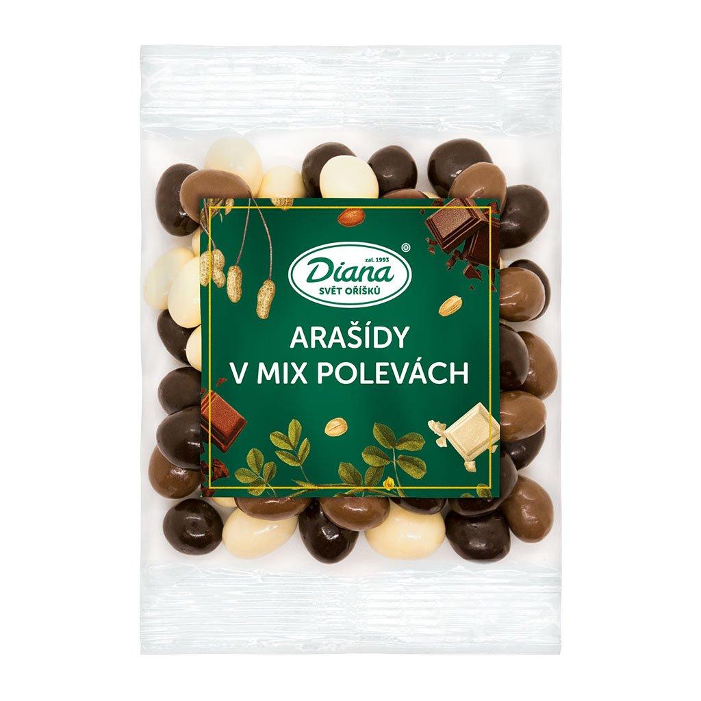 arašídy v mix polevách 100g diana company