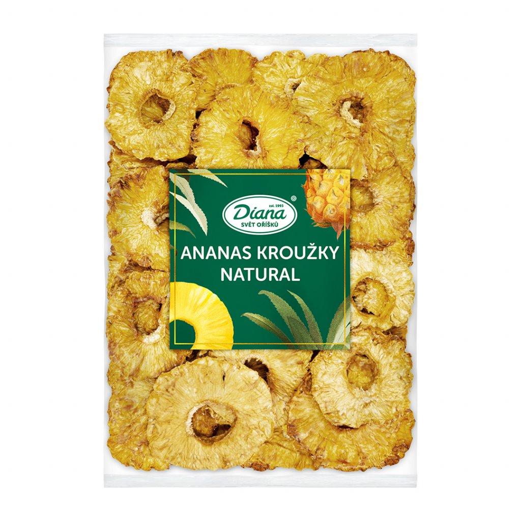 Ananas kroužky natural 1kg