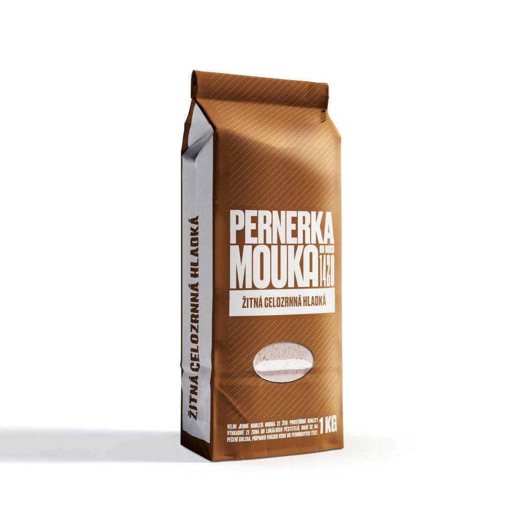 Pernerka Mouka žitná celozrnná hladká 1kg