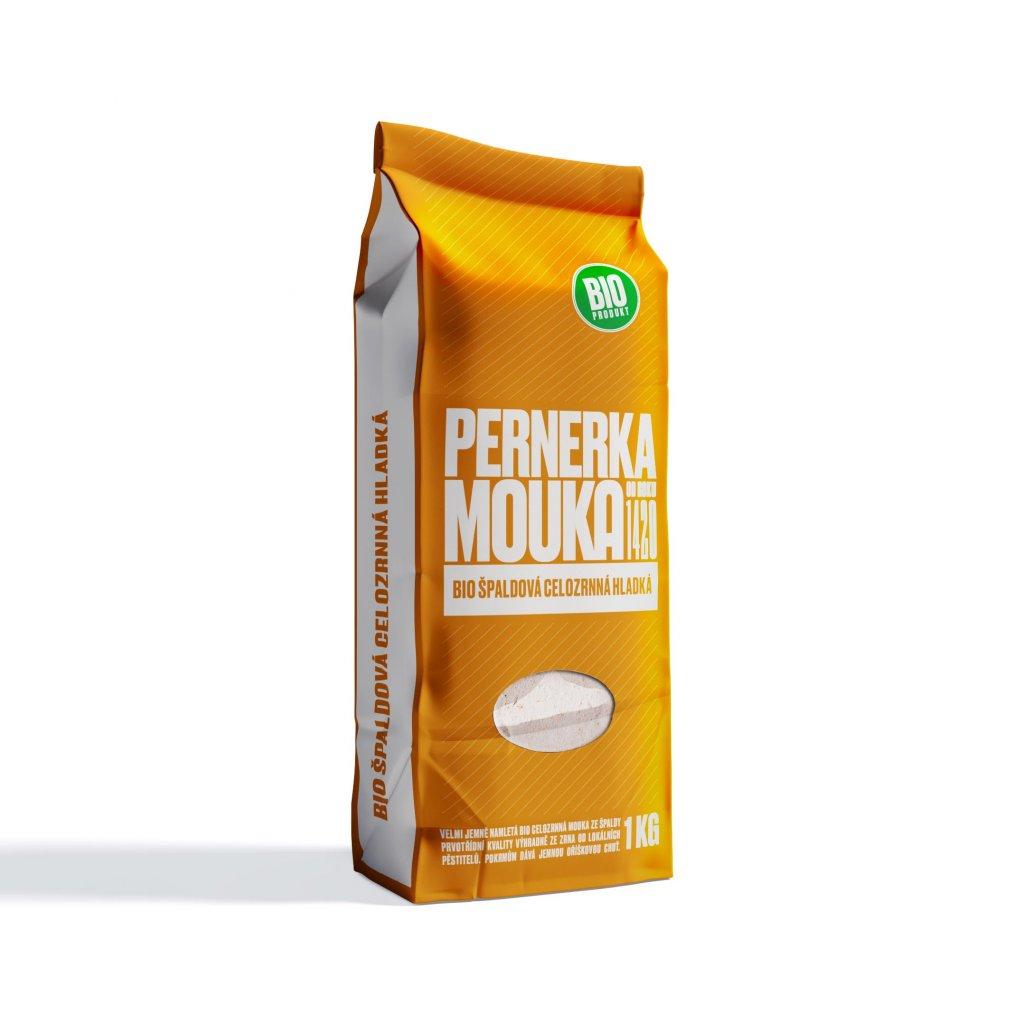 Pernerka BIO Mouka špaldová celozrnná hladká 1kg