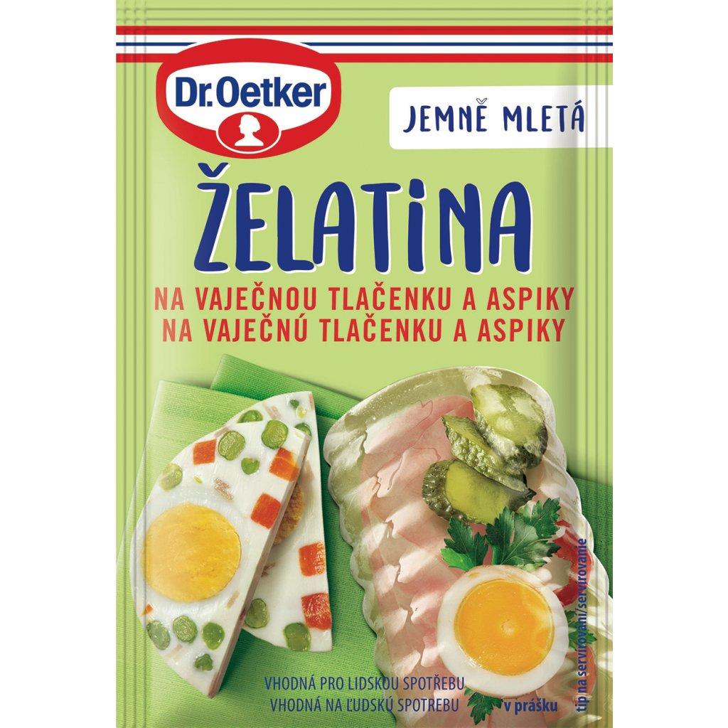 Dr. Oetker Želatina na vaječnou tlačenku a aspiky 20g