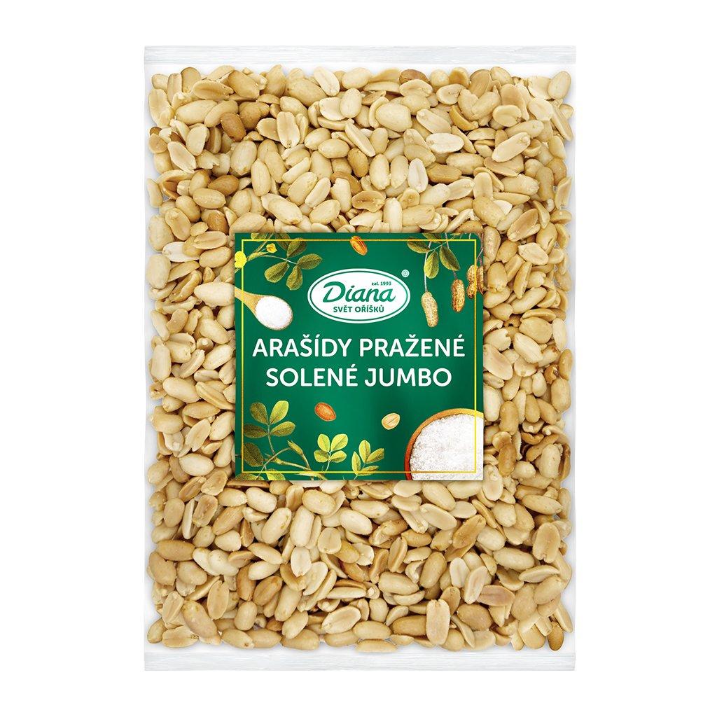 Arašídy pražené solené Jumbo 1kg