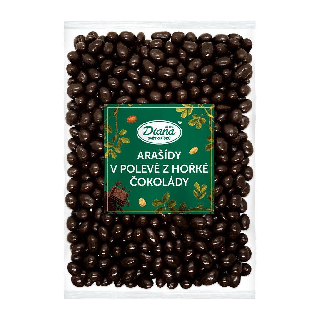 Arašídy v polevě z hořké čokolády