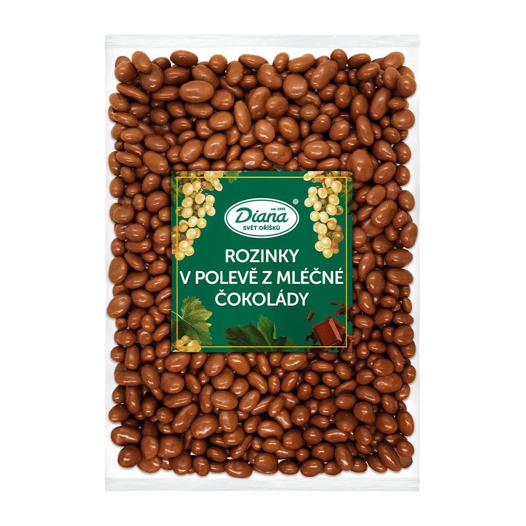 Rozinky v polevě z mléčné čokolády 1kg
