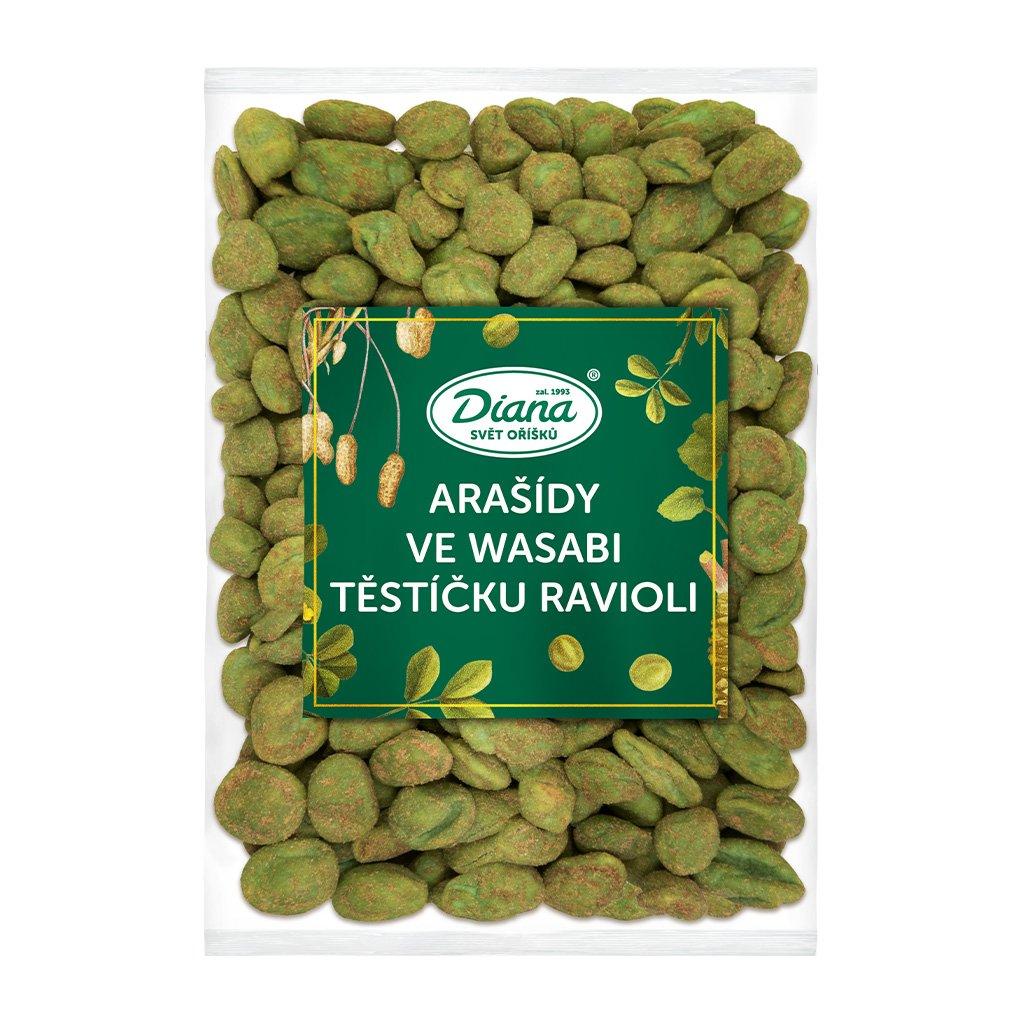 Arašídy ve wasabi těstíčku ravioli 500g