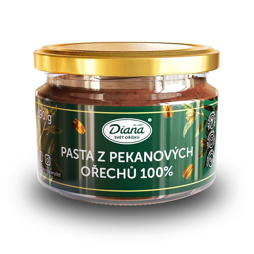 Pasta z pekanových ořechů 190g diana company přední