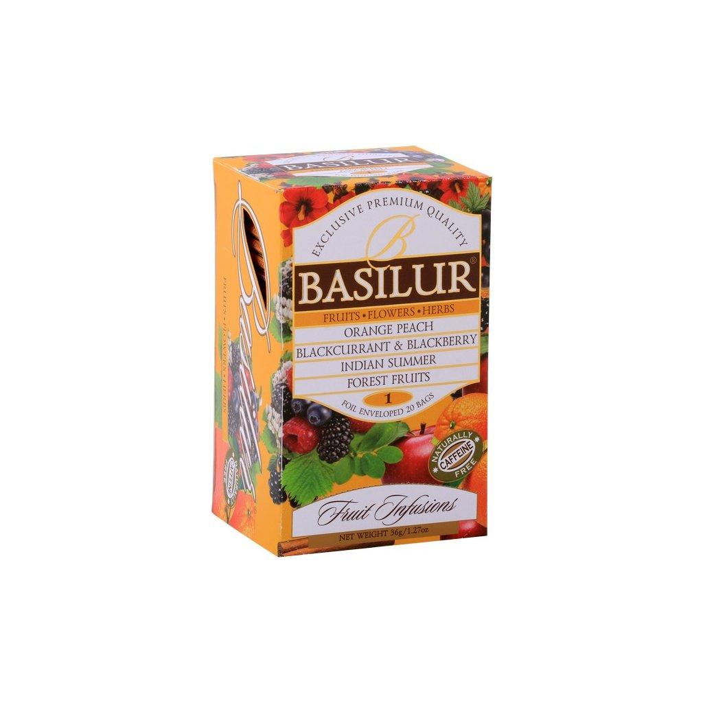 BASILUR Fruit Infusions Assorted Vol. I. přebal 25x1,8g