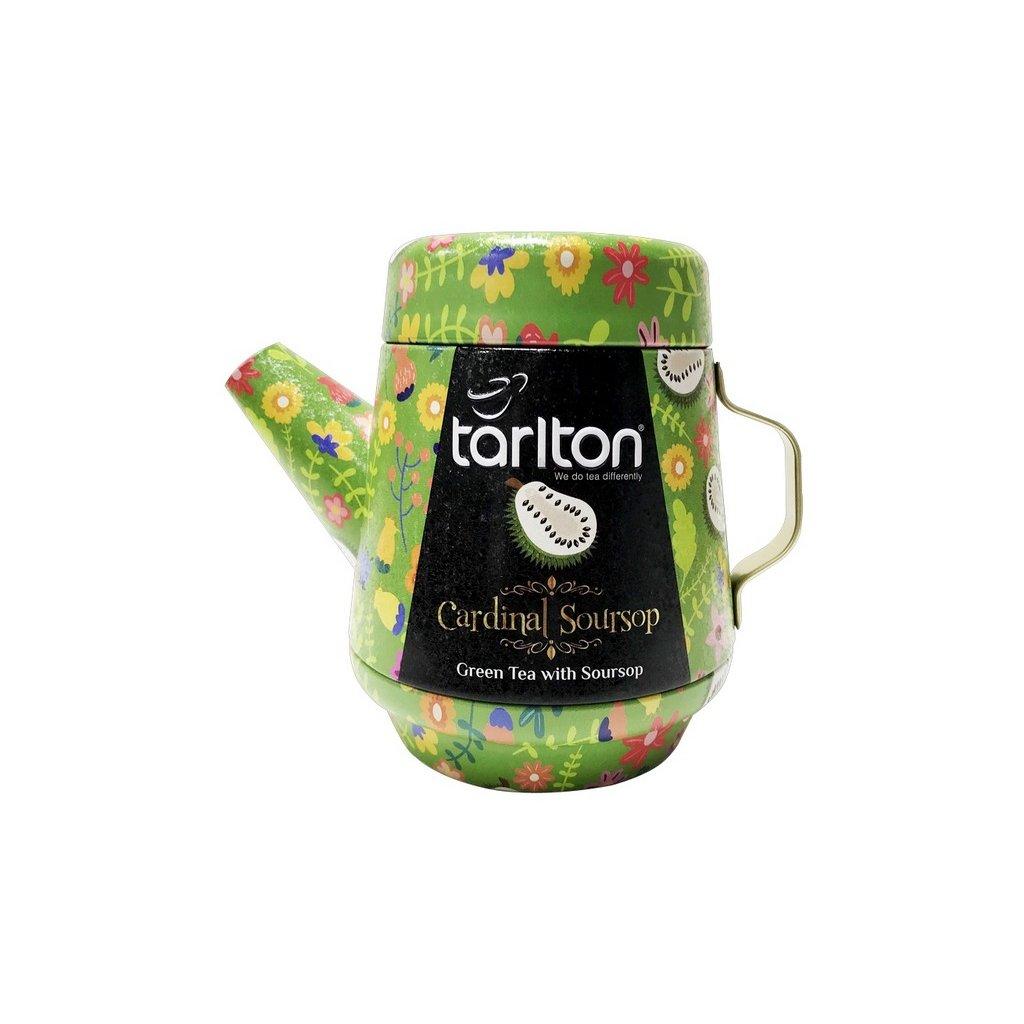Tarlton tea pot cardinal soursop green tea