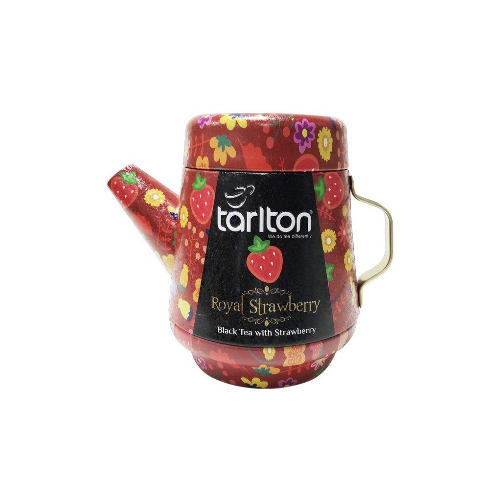 Tarlton tea pot royal strawberry black tea