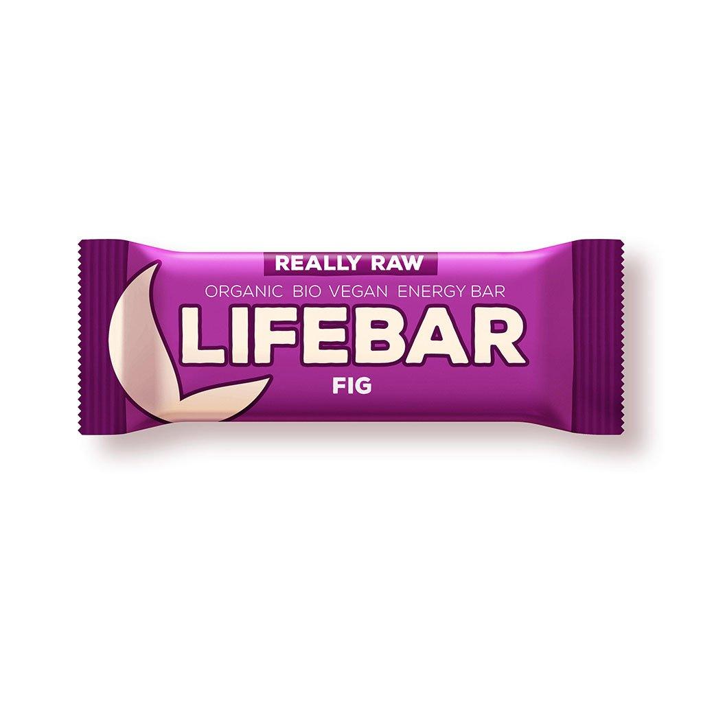Lifefood LIFEBAR BIO RAW fíková 47g