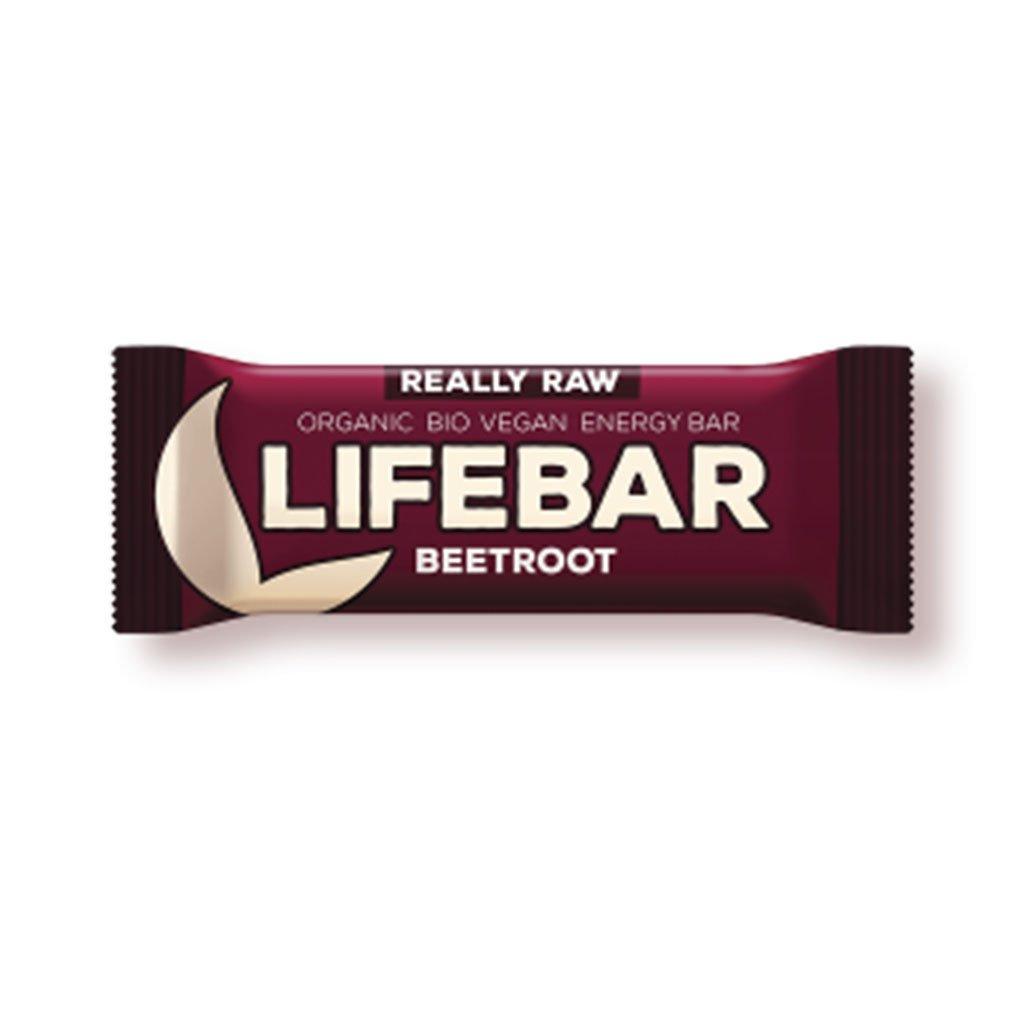 Lifefood LIFEBAR BIO RAW červená řepa 47g