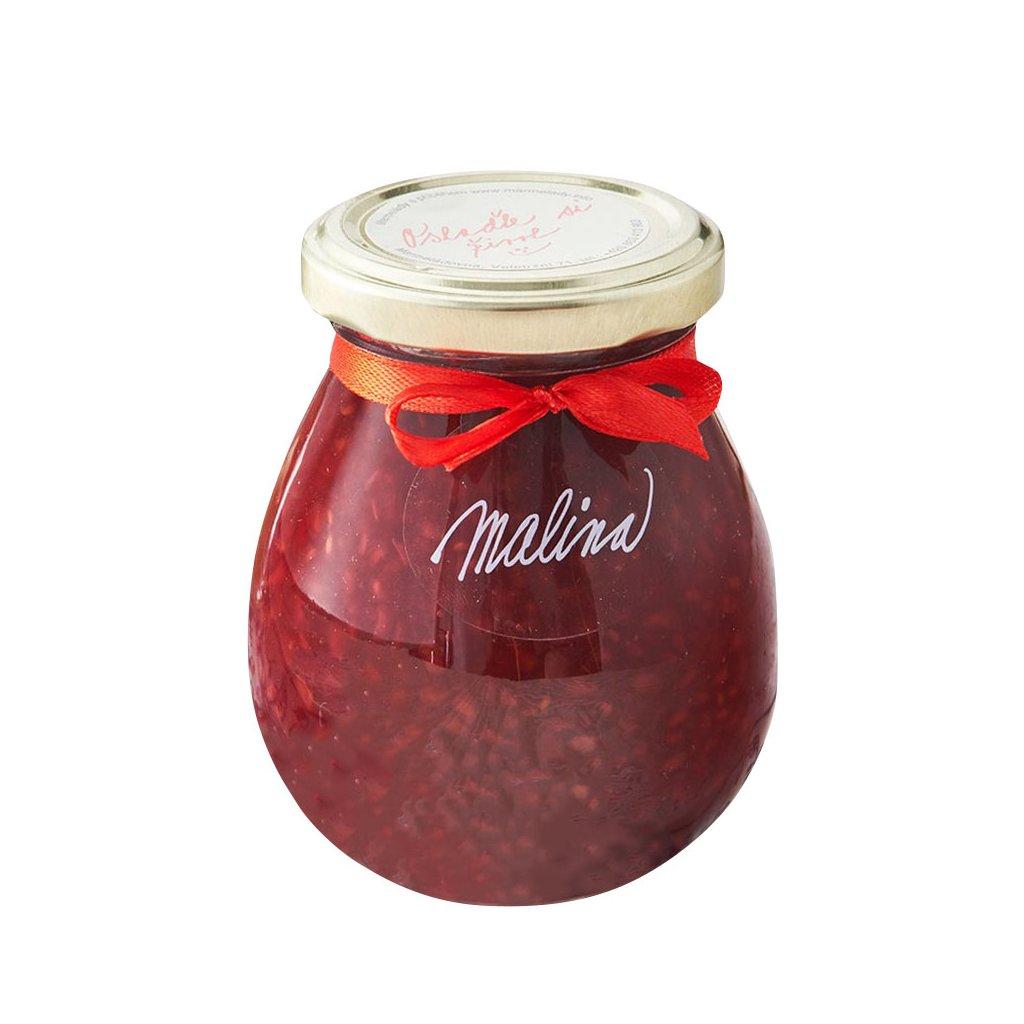 Marmelády s příběhem Malinový extra džem výběrový speciální 280g