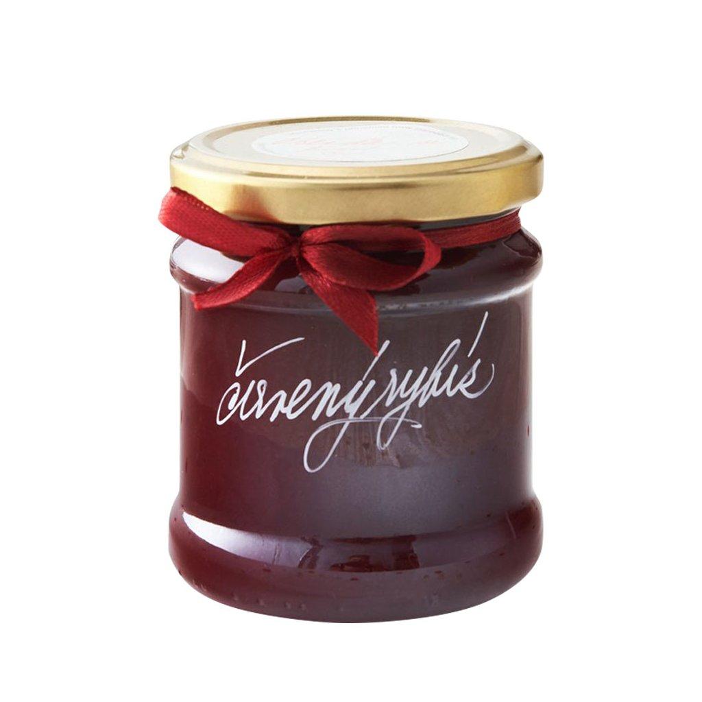Marmelády s příběhem Červený rybíz pasírovaný extra džem výběrový speciální 205g diana company