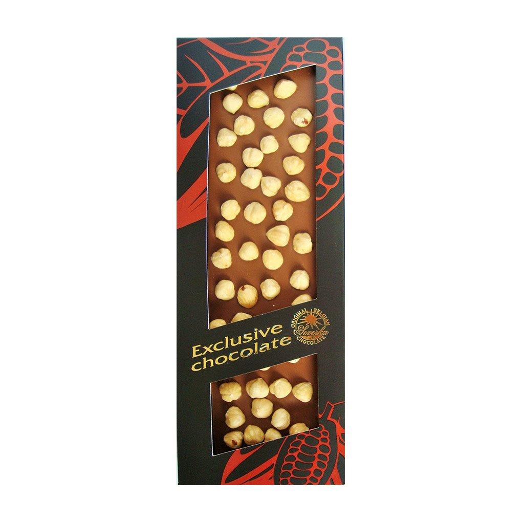 T severka Tabulková čokoláda s lískovými oříšky mléčná 150g