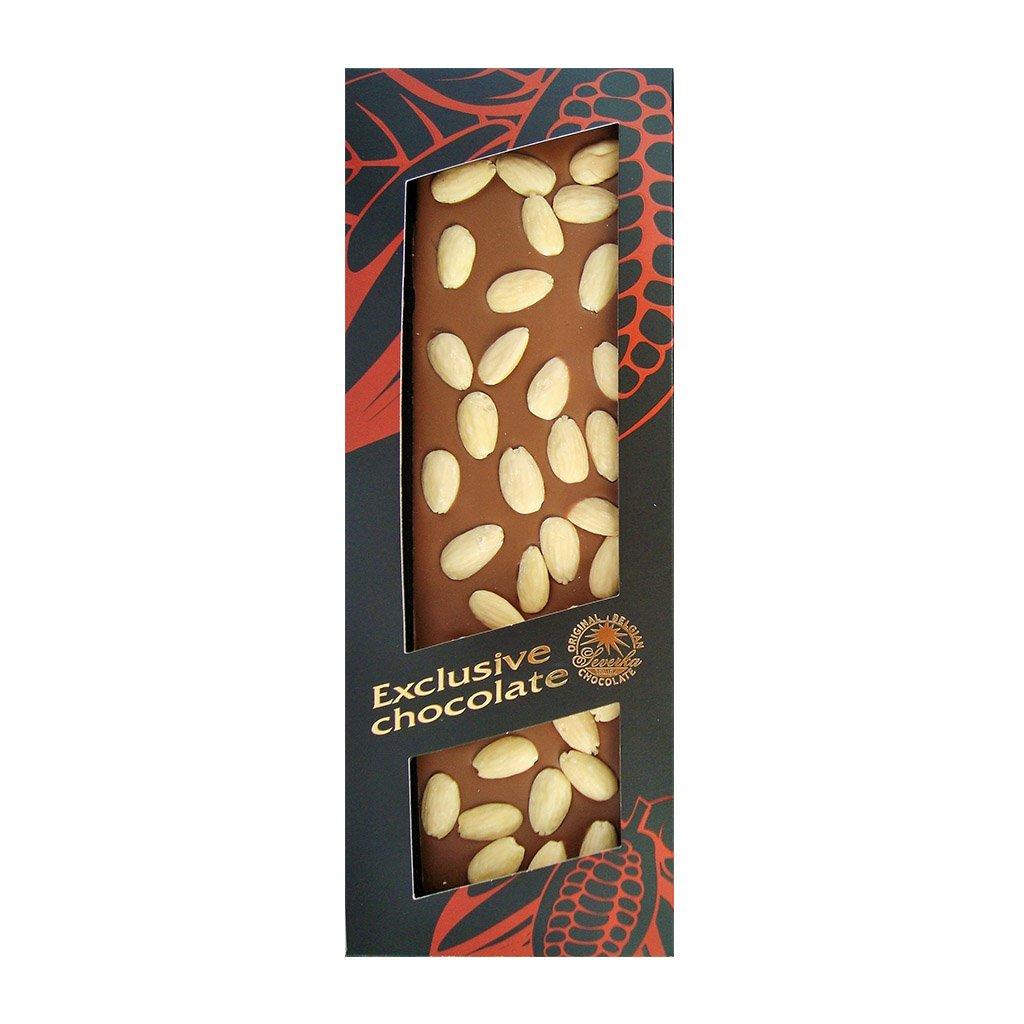 T severka Tabulková čokoláda s mandlemi mléčná 150g