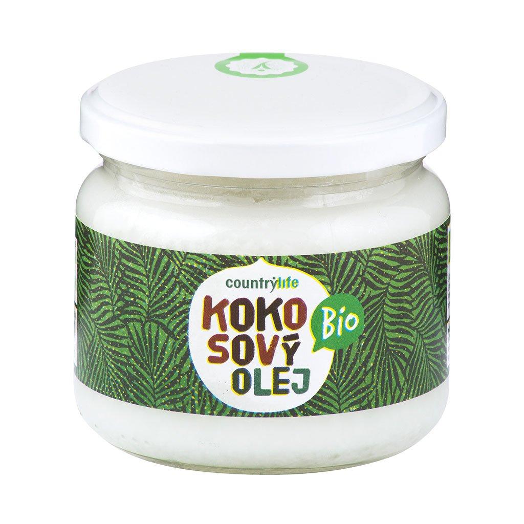 Country life Olej kokosový BIO